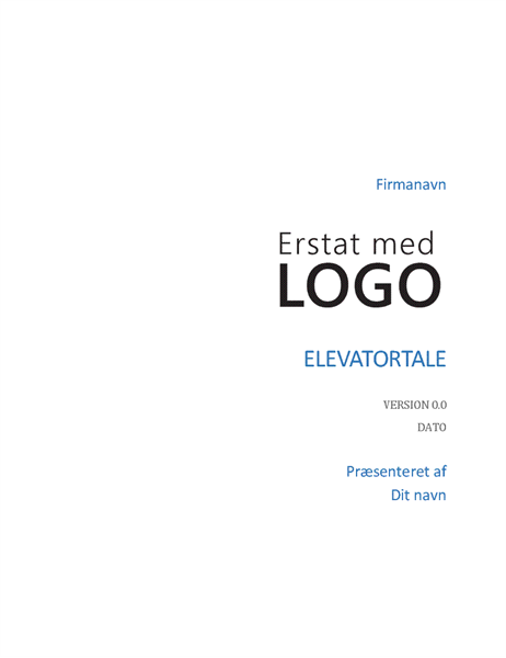 Elevatortale