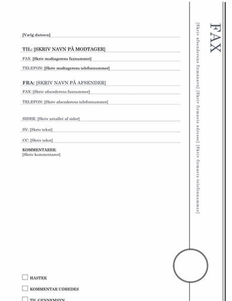 Faxforside (karnapdesign)