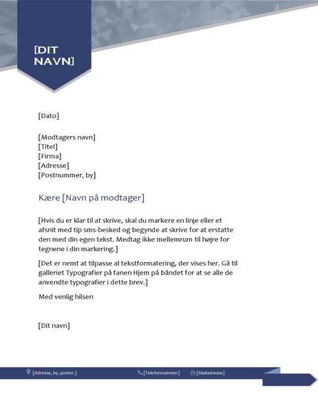 Pile-brevhoved