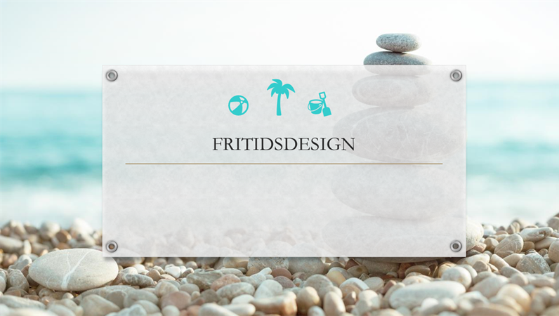 Fritid, Organisk-design