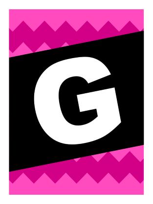 God rejse-banner – grafisk mønster
