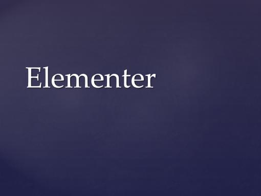 Elementer