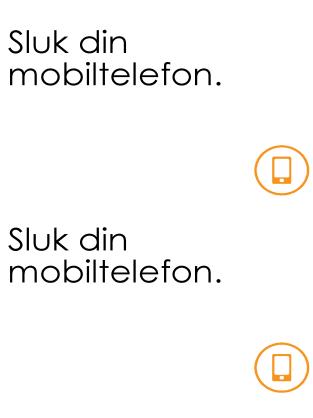 Sluk mobilen-plakat