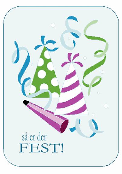 Invitation til fødselsdagsfest
