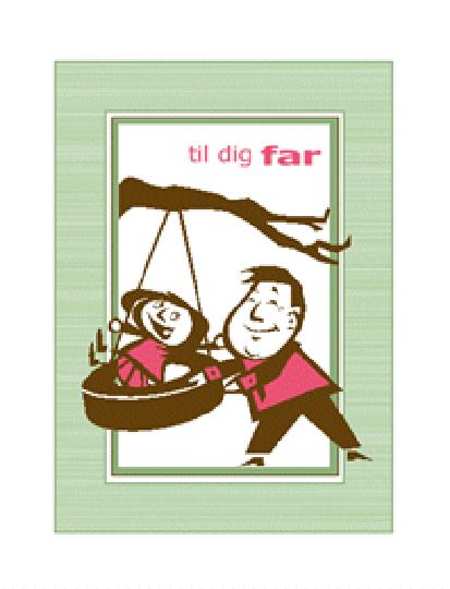 Fars dag-kort (fra datter)