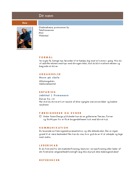 CV (temaet Median)