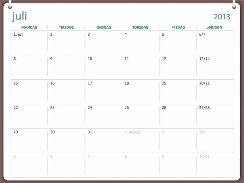 2013-2014-skolekalender (juli)