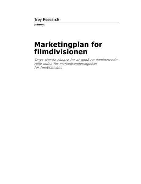 Forretningsrapport (moderne tema)