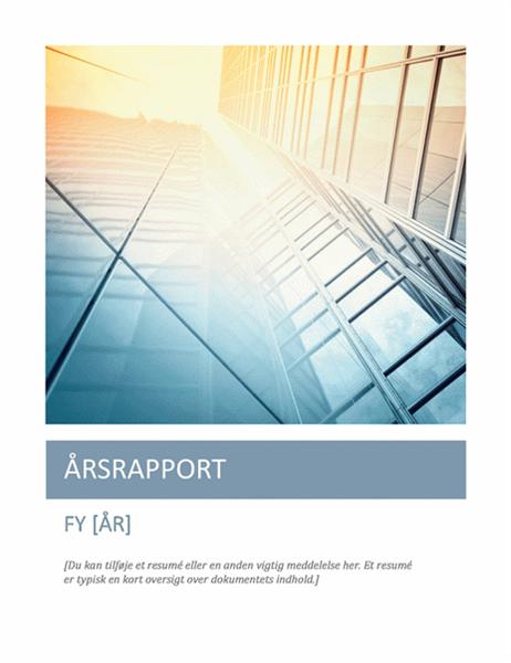 Årsrapport (med forside)