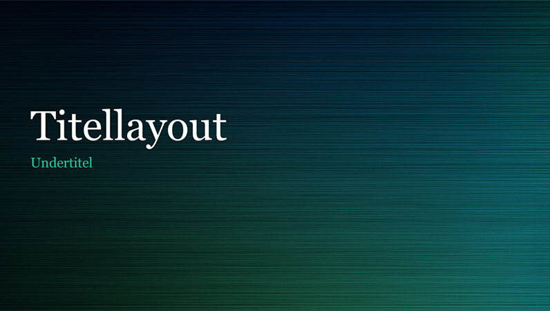 Presentación en metal bruñido verde (pantalla ancha)