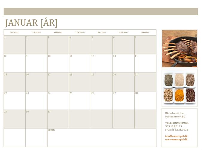 Fotokalender (man)