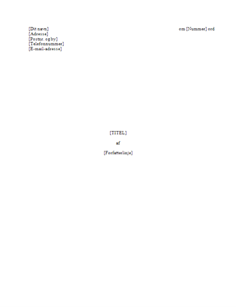 Bogmanuskript