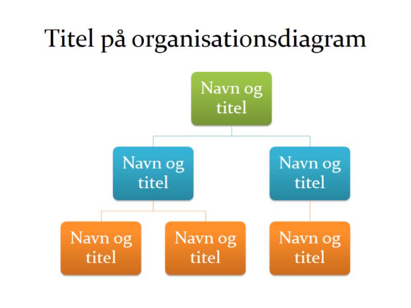 Grundlæggende organisationsdiagram