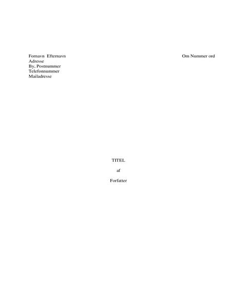 Bog-manuskript