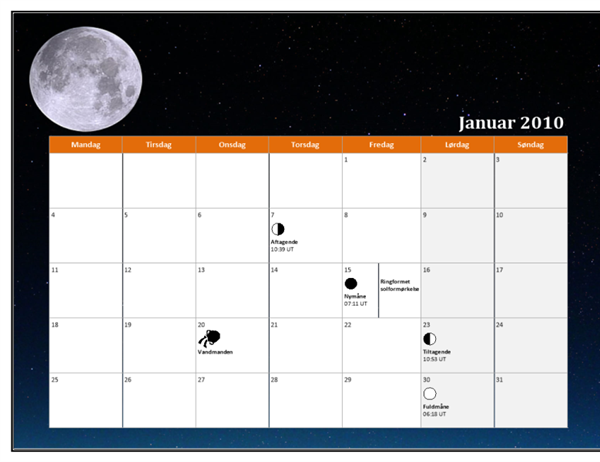 Månedskalender for 2010 (universaltid)