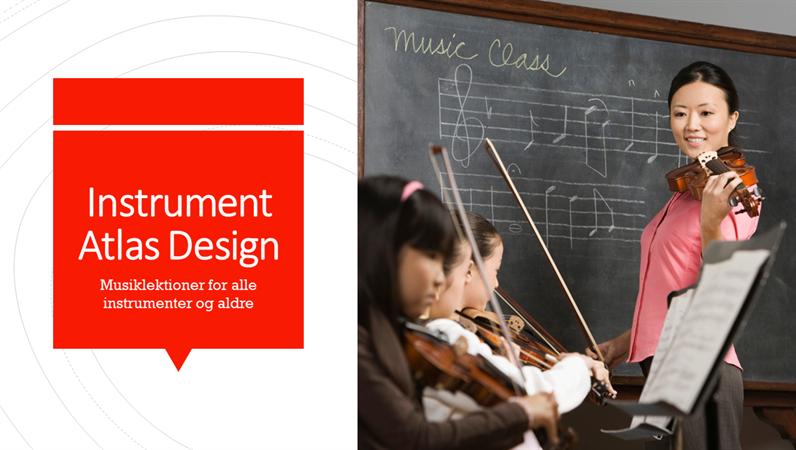 Instrument, Atlas-design