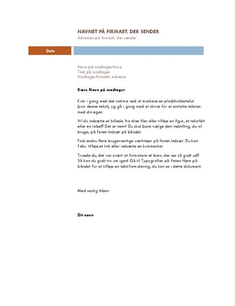 Virksomhedsbrev (Median-tema)