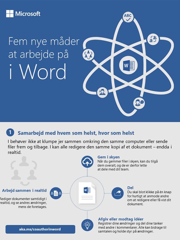 Fem nye måder at arbejde i Word