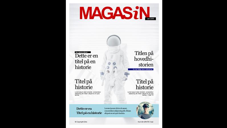 Omslag – magasin