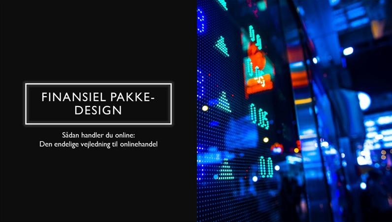 Finansiel pakke-design