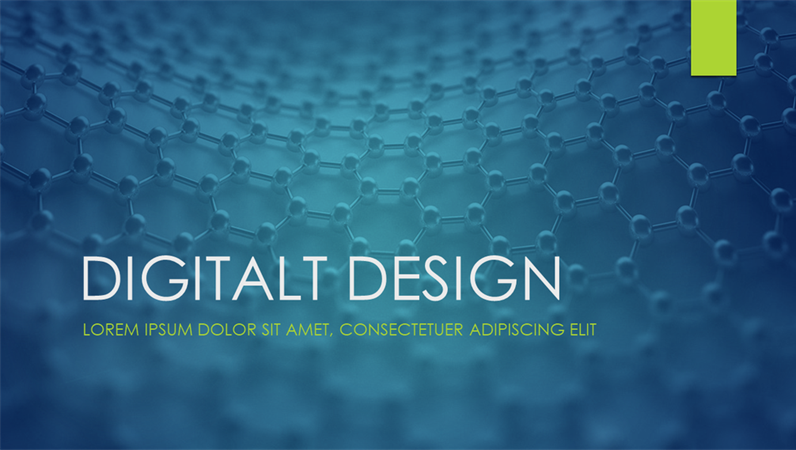 Digitale, Ion-design