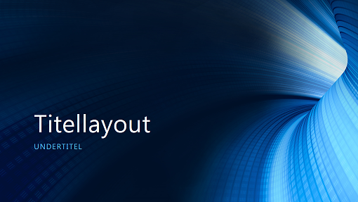 Forretningspræsentation med digital blå tunnel (widescreen)