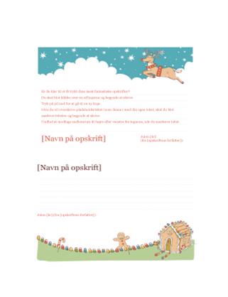 Kort til juleopskrifter
