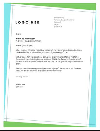 Geometrisk brevhoved