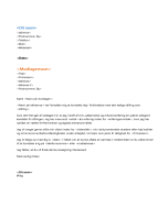 Følgebrev til funktionsopdelt CV (passer til funktionsopdelt CV)