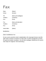 Faxforside