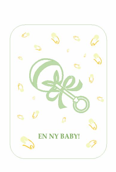 Invitation til babys første fest med S.U.