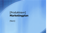 Præsentation til marketingplan