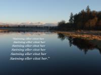 Billede med citat i perspektiv