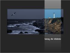 Animeret omfarvet billede, der optones over en sort-hvid kopi
