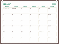 2013-kalender i torings-design (man-søn)