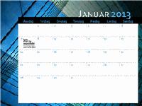 2013-kalender (man-søn)