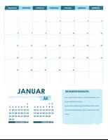 Studiekalender m-s (alle år)