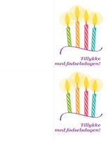 Fødselsdagskort
