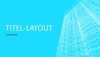 Præsentation af bygning med trådramme (widescreen)