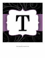 Banner til bryllupsdag – Elegant