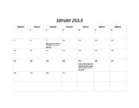 Grundlæggende kalender for 2013 (M-S)