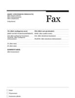 Faxforside (urbandesign)