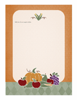 Brevpapir (høstdesign)