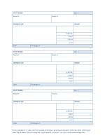 Kvittering med automatisk nummerering 3 pr. side)