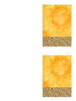 Takkekort (design med sol og strand)