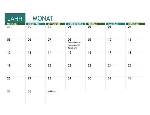 Akademischer Kalender