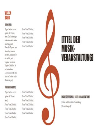 Musikprogramm