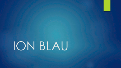 Ion Blau Office Templates