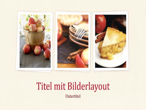Lebensmittel - Vorbereitung bis Präsentation (Breitbild)