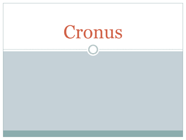 Cronus